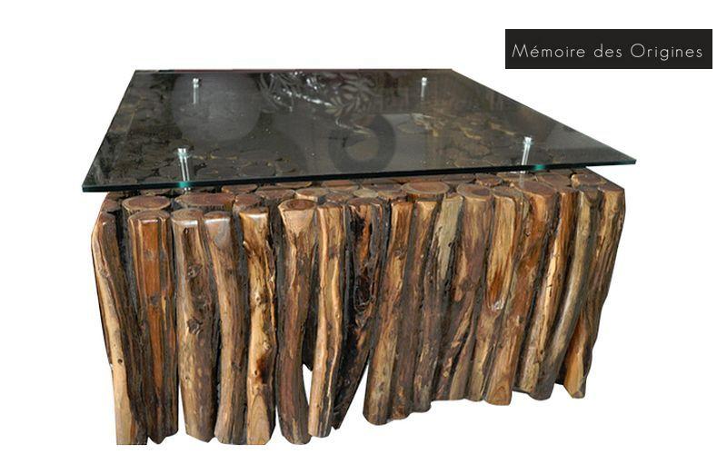 MEMOIRE DES ORIGINES Couchtisch quadratisch Couchtische Tisch  | Exotisch