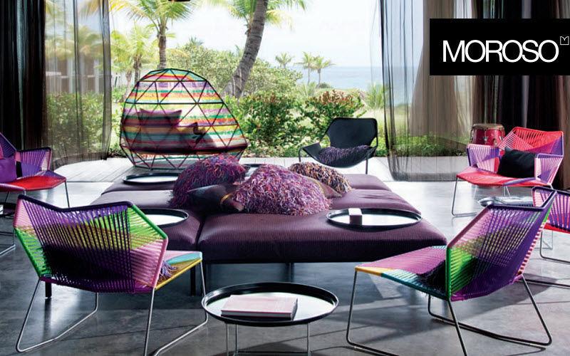Moroso Wohnzimmersitzgarnitur Couchgarnituren Sitze & Sofas Wohnzimmer-Bar | Design Modern