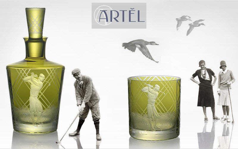 Artel Whiskykaraffe Flaschen und Karaffen Glaswaren  |