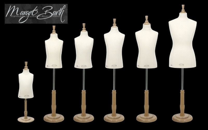 MARGOT BARTH Schaufensterpuppe Stumme Diener und Kleiderpuppen Garderobe  |
