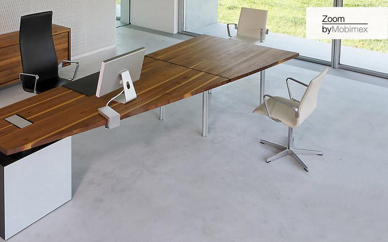Zoom by Mobimex Direktionsschreibtisch Schreibtische & Tische Büro  |