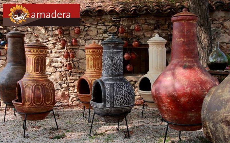 Amadera Feuerstelle Grill Außen Diverses  |