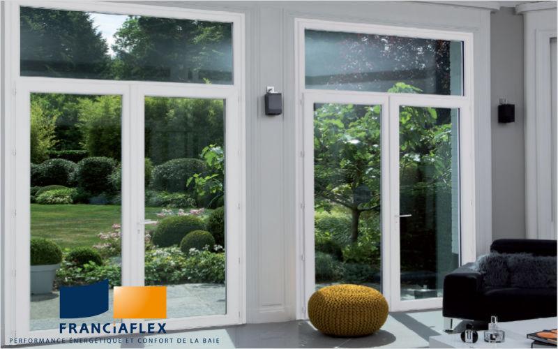 Franciaflex Glasfensterfront Balkon-/Terrassentüren Fenster & Türen  |