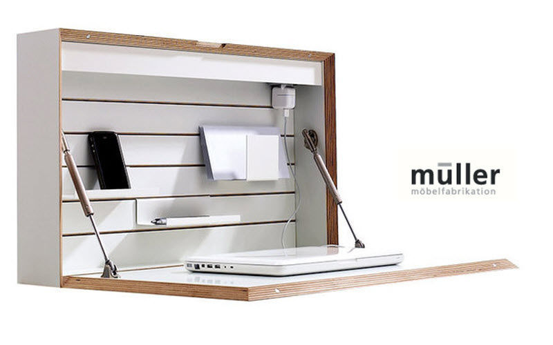 Müller Sekretär an der Wand Schreibtische & Tische Büro  |