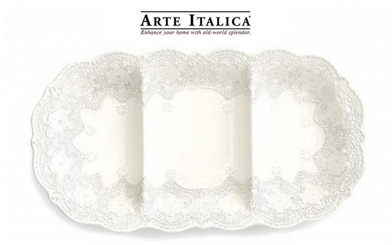 Arte Italica Vorspeisen Tablett mit Schaelchen Platten Geschirr  |