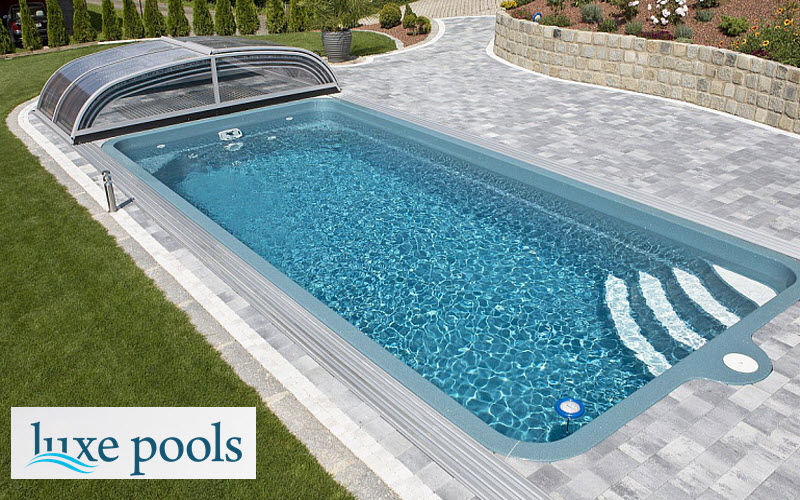 LUXE POOLS Polyester-Swimmingpool Schwimmbecken Schwimmbad & Spa  |