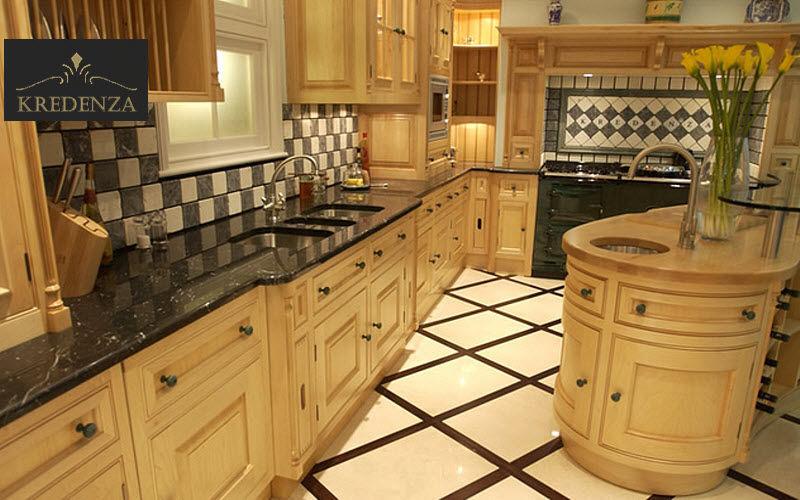 Kredenza Traditionelle Küche Küchen Küchenausstattung  |