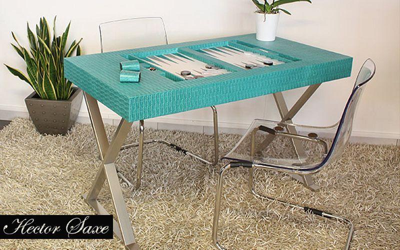 HECTOR SAXE Backgammon-Tisch Gesellschaftsspiele Spiele & Spielzeuge  |