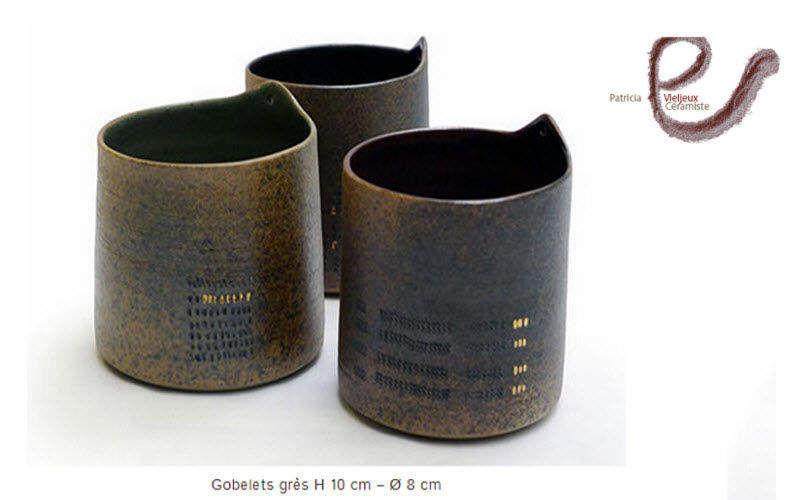 Patricia Vieljeux Trinkbecher Gläser Glaswaren  |