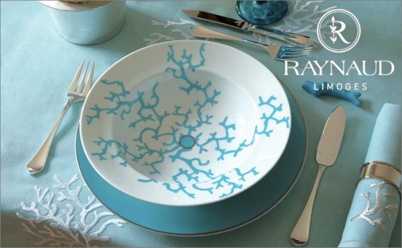 Raynaud Tafelteller Teller Geschirr   