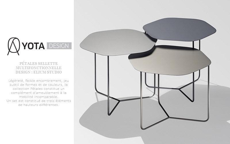 YOTA  DESIGN Schemel Beistelltisch Tisch  |
