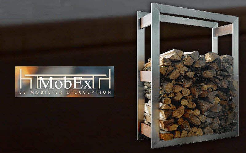 MOBEX / Le Mobilier d'Exception Kaminholzhalterständer Kaminzubehör Kamin   