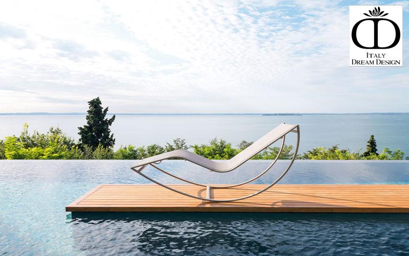 ITALY DREAM DESIGN Sonnenliege Gartenliegen Gartenmöbel Garten-Pool   Design Modern