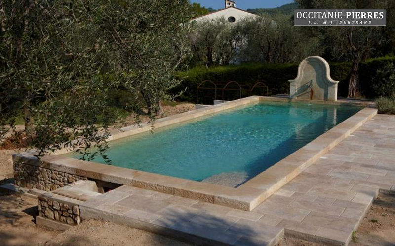 Occitanie Pierres Traditioneller Swimmingpool Schwimmbecken Schwimmbad & Spa  |
