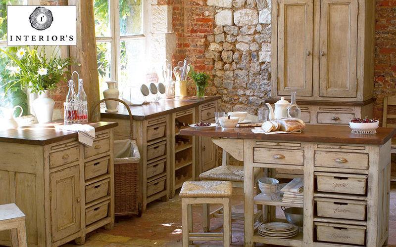INTERIOR'S Küchenunterschrank Küchenmöbel Küchenausstattung Küche | Land