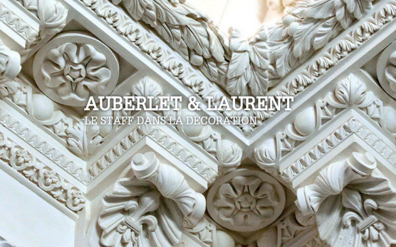 Auberlet Et Laurent Wandleisten Architektur Verzierung  |