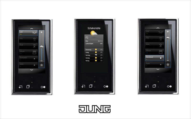JUNG Haustechnik Central Bedienung Fernbedienung Heimelektronik  |