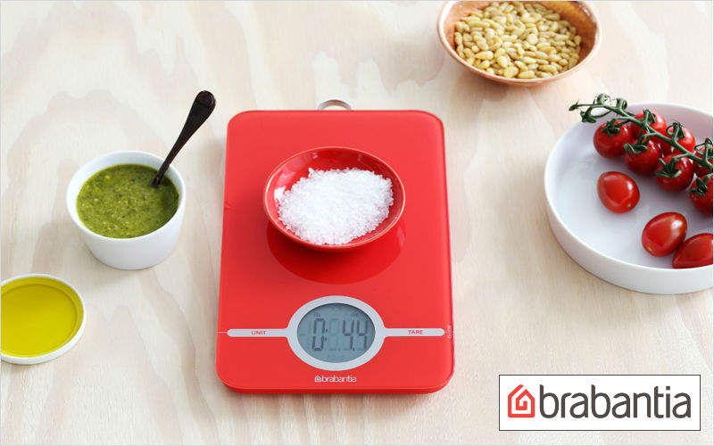 Brabantia Elektronische Küchenwaage Wiegen Küchenaccessoires  |