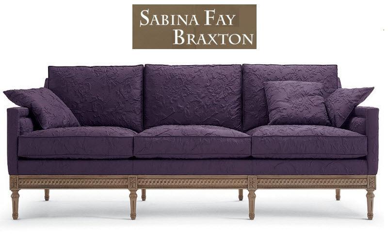 Sabina Fay Braxton Sofa 3-Sitzer Sofas Sitze & Sofas  | Klassisch