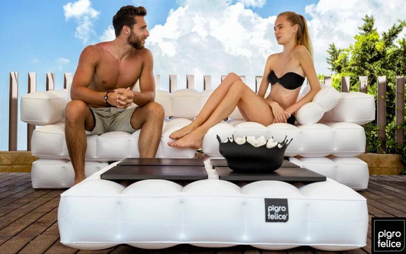 PIGRO FELICE Aufblasbares Sofa Aufblasbares Sitzkissen Sitze & Sofas   