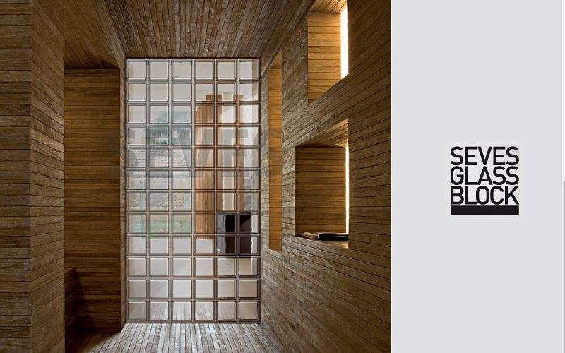 Seves Glassblock Glasbaustein Trennwände Wände & Decken  |