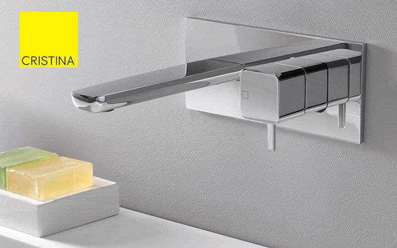 Cristina Rubinetterie Mischbatterie für Wand-Waschtisch Wasserhähne Bad Sanitär  |