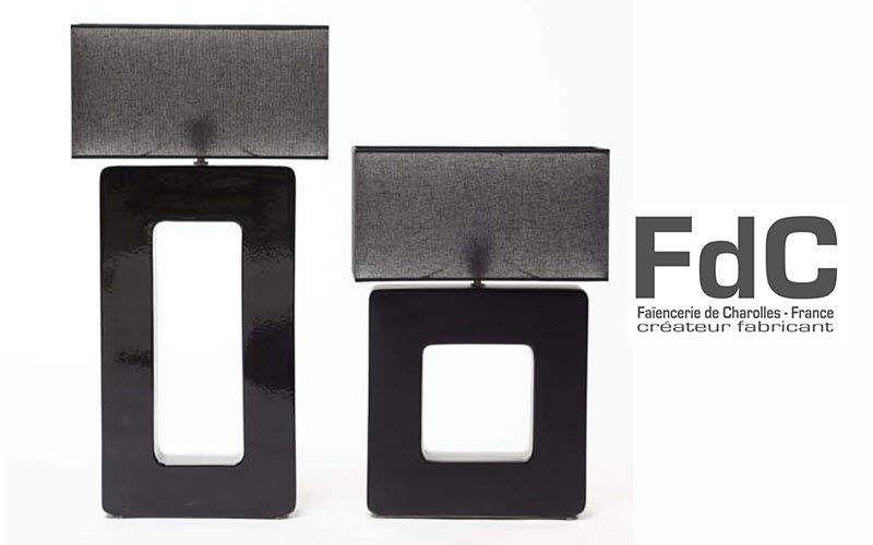FdC FAÏENCERIE DE CHAROLLES Tischlampen Lampen & Leuchten Innenbeleuchtung  |