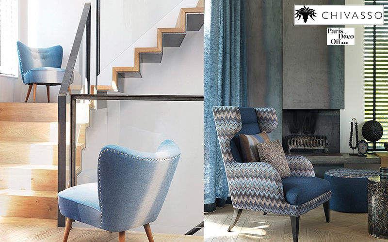 Chivasso Sitzmöbel Stoff Möbelstoffe Stoffe & Vorhänge   