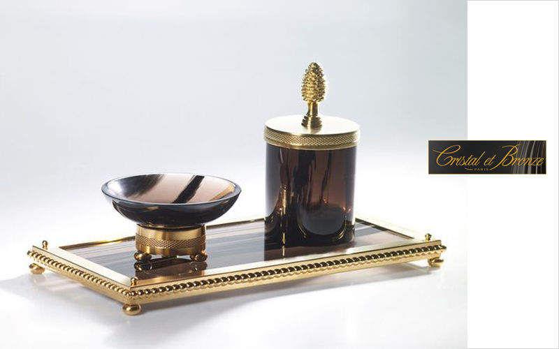 Cristal Et Bronze Badezimmerset Badezimmeraccessoires Bad Sanitär  |