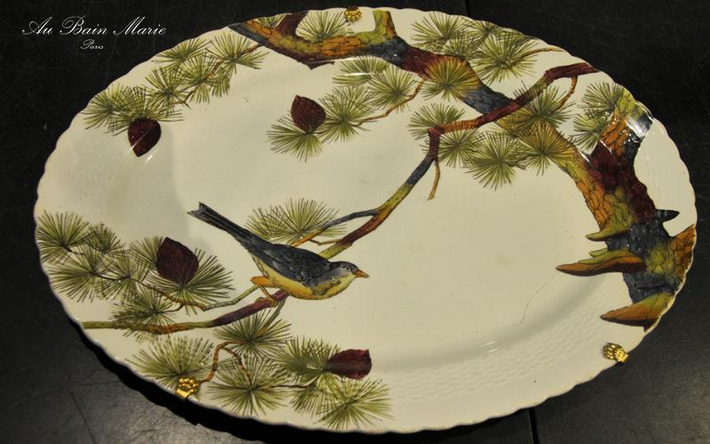 Au Bain Marie Platte Platten Geschirr  |