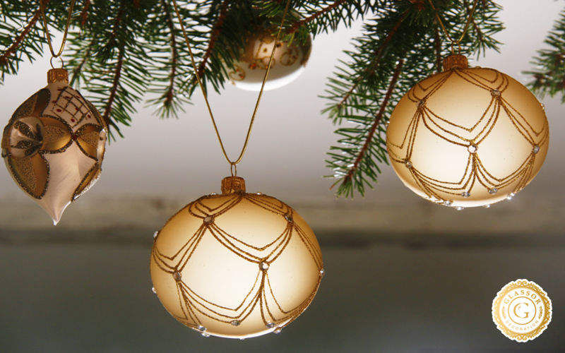 GLASSOR Weihnachtskugel Weihnachtsdekoration Weihnachten & Feste  |