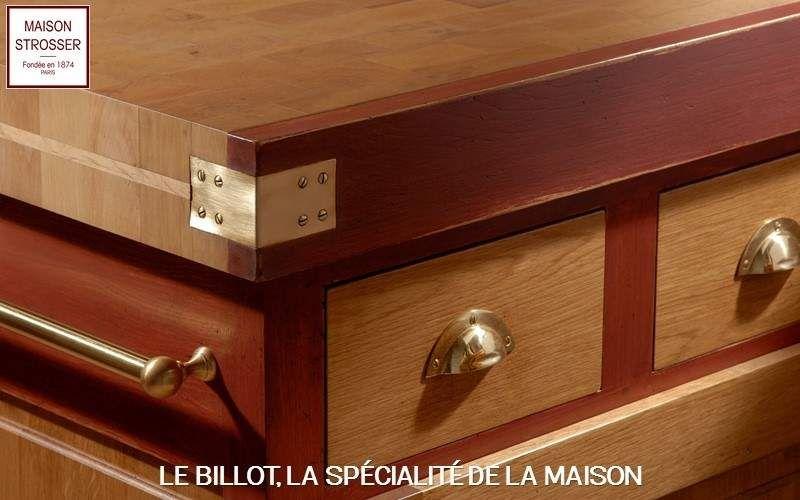 Maison Strosser Küchenblock Arbeitsplatten und Anrichten Küchenausstattung  |