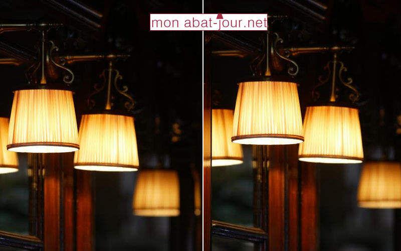 MON ABAT JOUR Lampenschirm Lampenschirmen Innenbeleuchtung  |