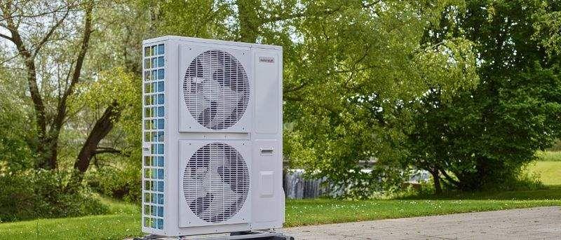 WEISHAUPT Heizpumpe Klimaanlage, Ventilation Ausstattung   
