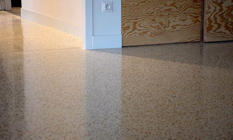 LUCEM Dekorativ Beton Boden (Polierter Beton) Dekorativer Beton Böden  |