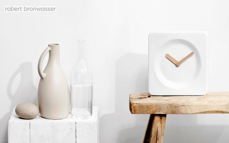 ROBERT BRONWASSER Tischuhr Uhren Pendeluhren Wecker Dekorative Gegenstände  |