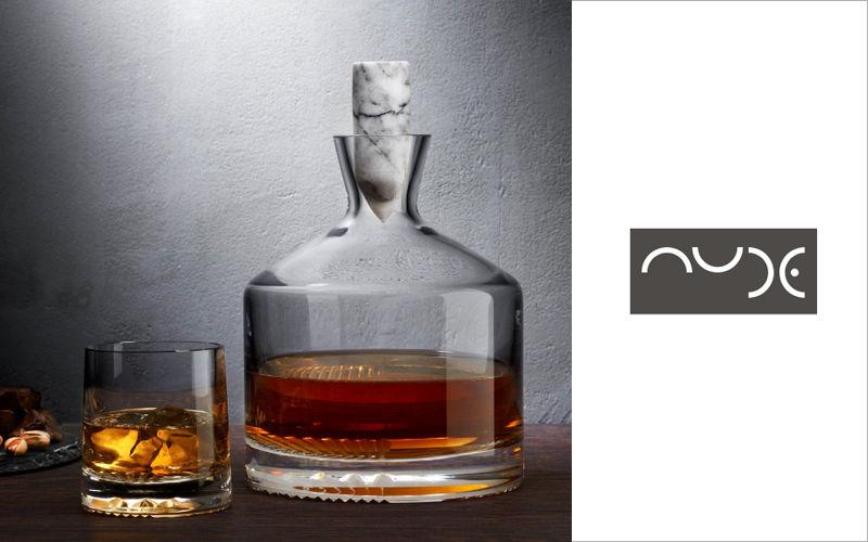 NUDE Whiskykaraffe Flaschen und Karaffen Glaswaren  |