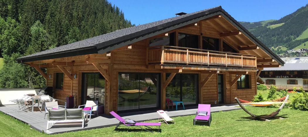 CHALET SERVOZ Chalet Einfamilienhäuser Häuser  |