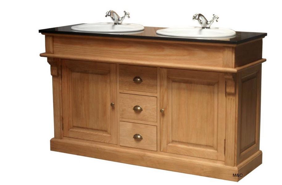MAS et COTTAGE Doppelwaschtisch Möbel Badezimmermöbel Bad Sanitär  |