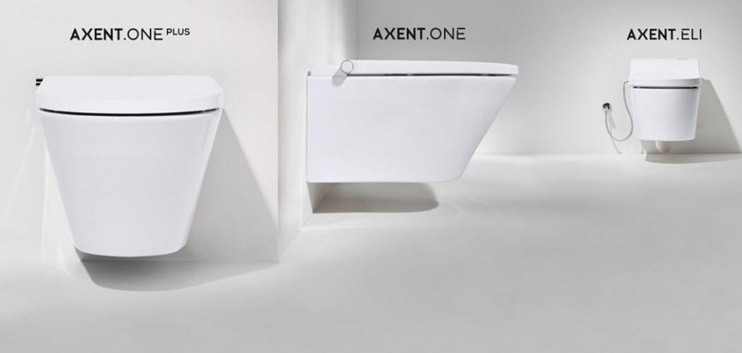 AXENT Hänge-WC WC & Sanitär Bad Sanitär  |