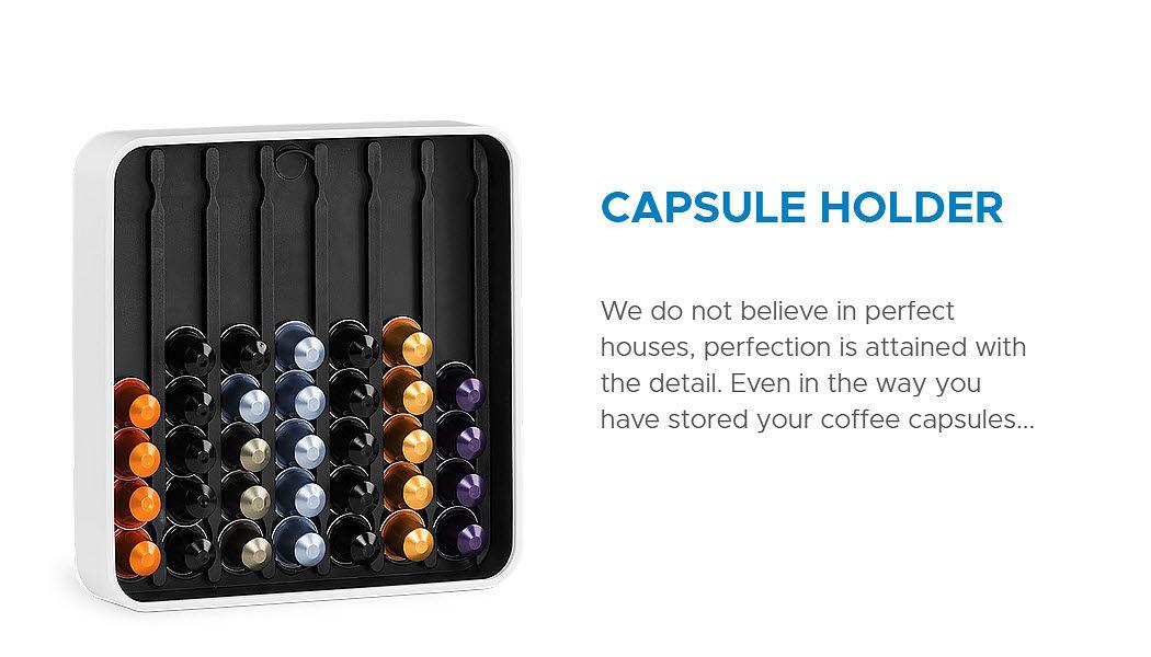 BYLINE Kaffekapseln Aufbewahrung Regale Küchenaccessoires  |