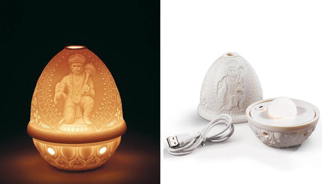 Lladró Lithophanie-Tischlampe Kerzen und Kerzenständer Dekorative Gegenstände  |