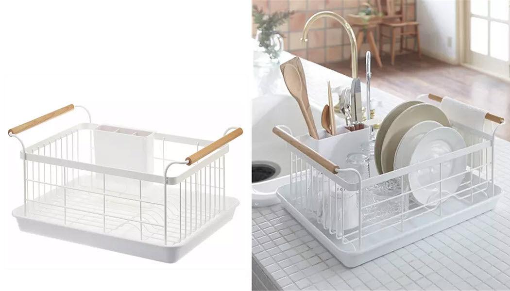 YAMAZAKI Abtropfgestell Geschirrkörbe Küchenaccessoires  |