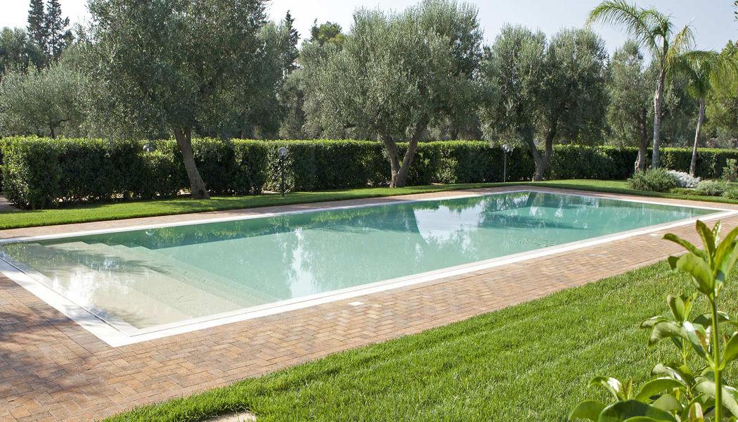 Piscine Castiglione Traditioneller Swimmingpool Schwimmbecken Schwimmbad & Spa Garten-Pool | Design Modern