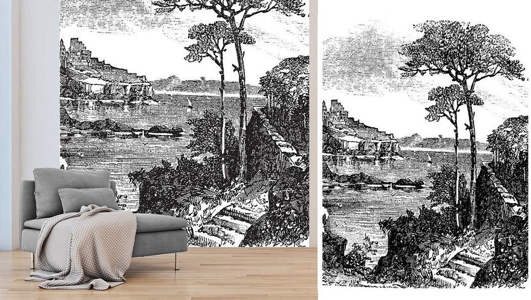 HD 86 Panoramatapete Tapeten Wände & Decken  |
