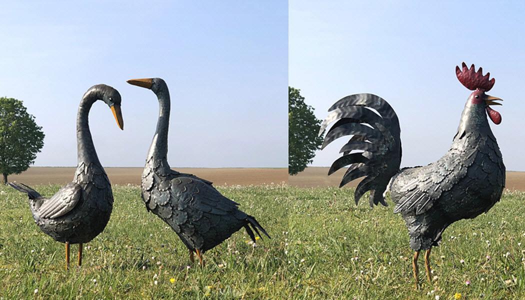 L'ORIGINALE DECO Tierskulptur Figuren und Skulpturen Kunst  |