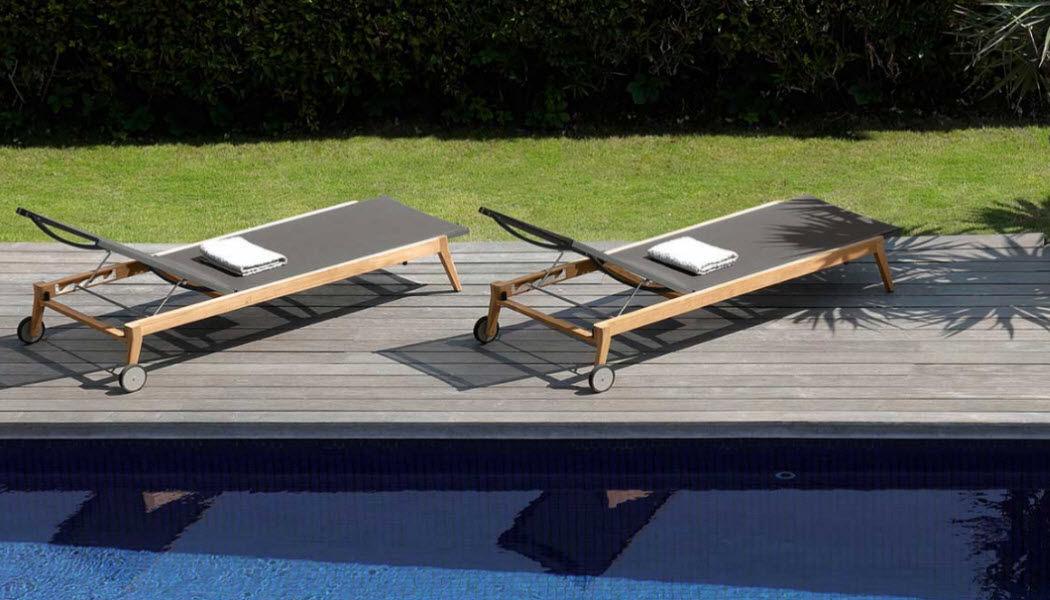 ITALY DREAM DESIGN Sonnenliege Gartenliegen Gartenmöbel  |