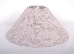 Coquecigrues - abat jour dentelle transparent - Lampenschirm