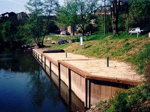 Prosbois Uferbegrenzung