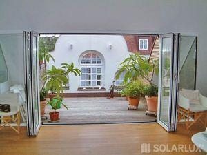 Solarlux Systems Fenstertür, drei- oder vierflügelig